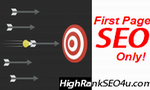 first page seo only