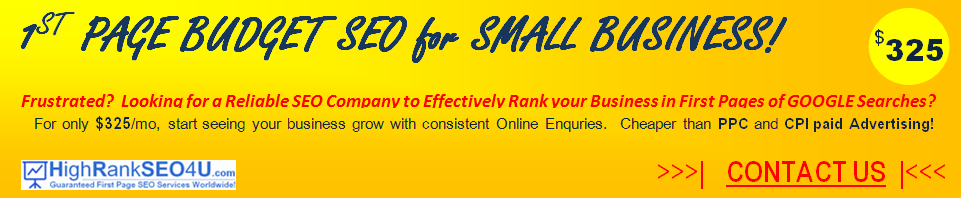 low cost seo services for small business New York Singapore Sydney Manila