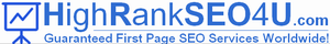 High Rank First Page SEO Services